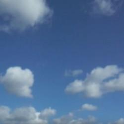 Как растворить облако взглядом. Попробуйте!
